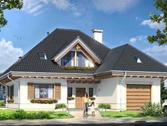одноэтажные дома с вальмовой крышей