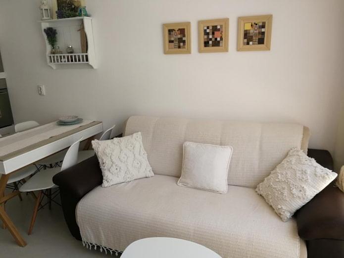 Плед на диван: 60 фото, какие функции выполняет, из каких материалов делают