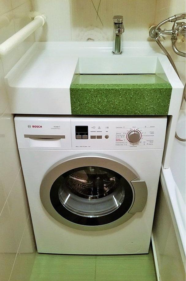 умывальник на стиральную машину