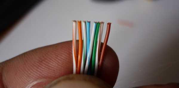 Как подключить интернет розетку, схема подключения кабеля по цветам