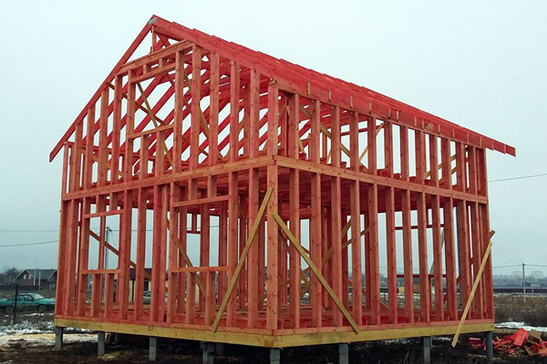 смотреть видео как строят дома
