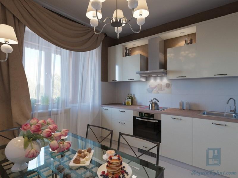 Тюль для кухни (54 фото): варианты дизайна, выбор красивого тюля для кухни с балконом. как лучше повесить тюль-сетку? примеры в интерьере