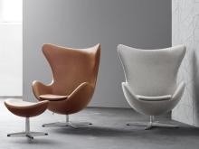Egg chair / кресло яйцо: виды и особенности / фото