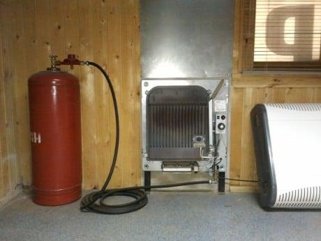 Газовый инфракрасный керамический обогреватель