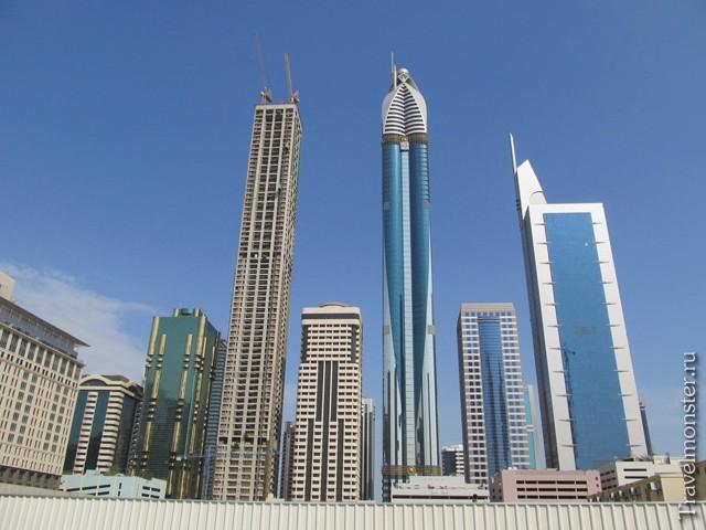 высота бурдж халифа в дубае в метрах