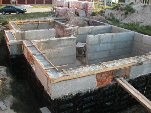 Инструкция с фото и видео по строительству цокольного этажа здания своими руками