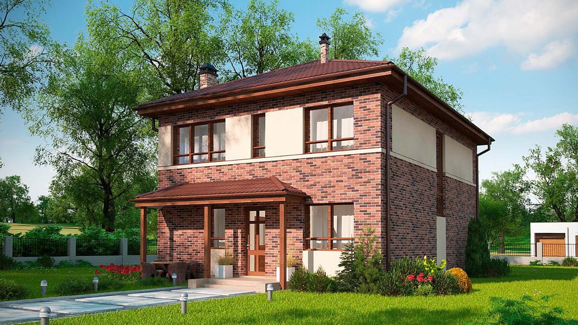проект 2 х этажного дома