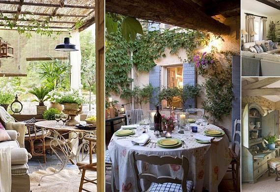 Романтичный «прованс» в интерьере квартиры