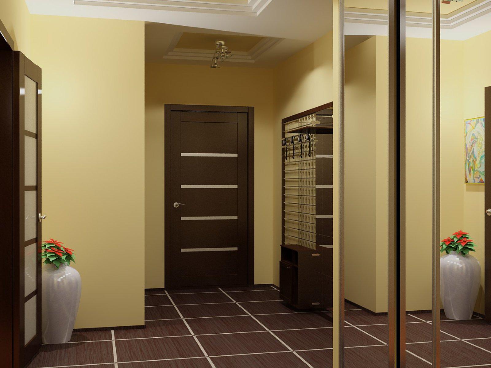 Покраска стен в коридоре (51 фото): как правильно покрасить стены в прихожей? варианты дизайна интерьера в квартире и в доме