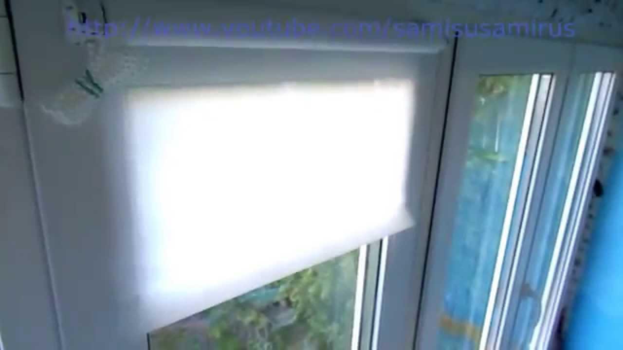 Крепление римских штор на пластиковые окна — выкладываем суть