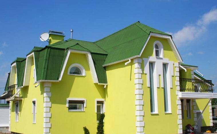 Выбор цвета для фасада дома - 100 фото и видео мастер-класс нанесения фасадных красок