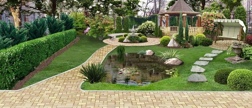 Бордюрная лента для садовых дорожек: гибкий бордюр садовый пластиковый, газонный - купить