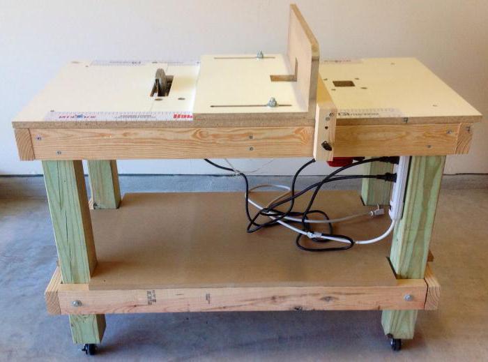 Детальное описание изготовления стола для циркулярной пилы своими руками, который пригодится в любой мастерской