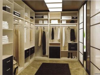 Наполнение для шкафов и гардеробных (84 фото): оборудование и комплектующие гардеробной комнаты