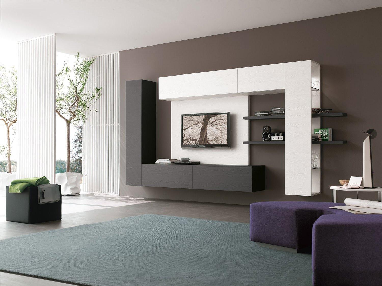 Стенка в гостиную: виды конфигураций для современной гостиной (100 фото)