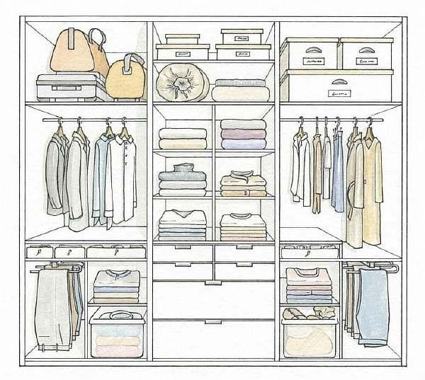 Глубина верхних шкафов кухни: стандарты производства для удобства