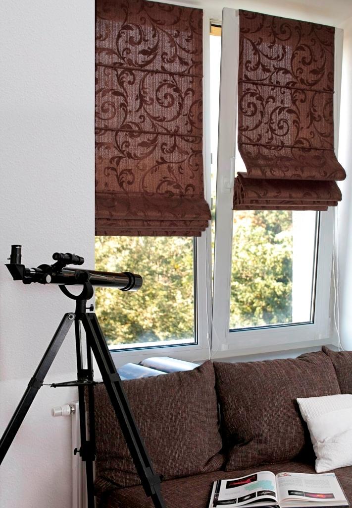римские шторы на балкон своими руками