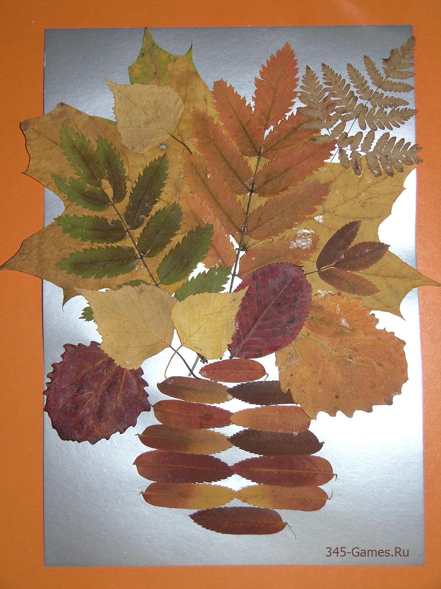 Поделки из листьев: новые фото идеи, советы, инструкции