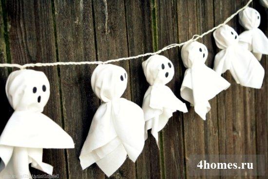 украшение квартиры на хэллоуин