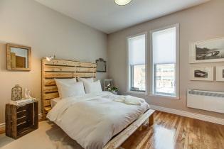 Кровати в интерьере спальни