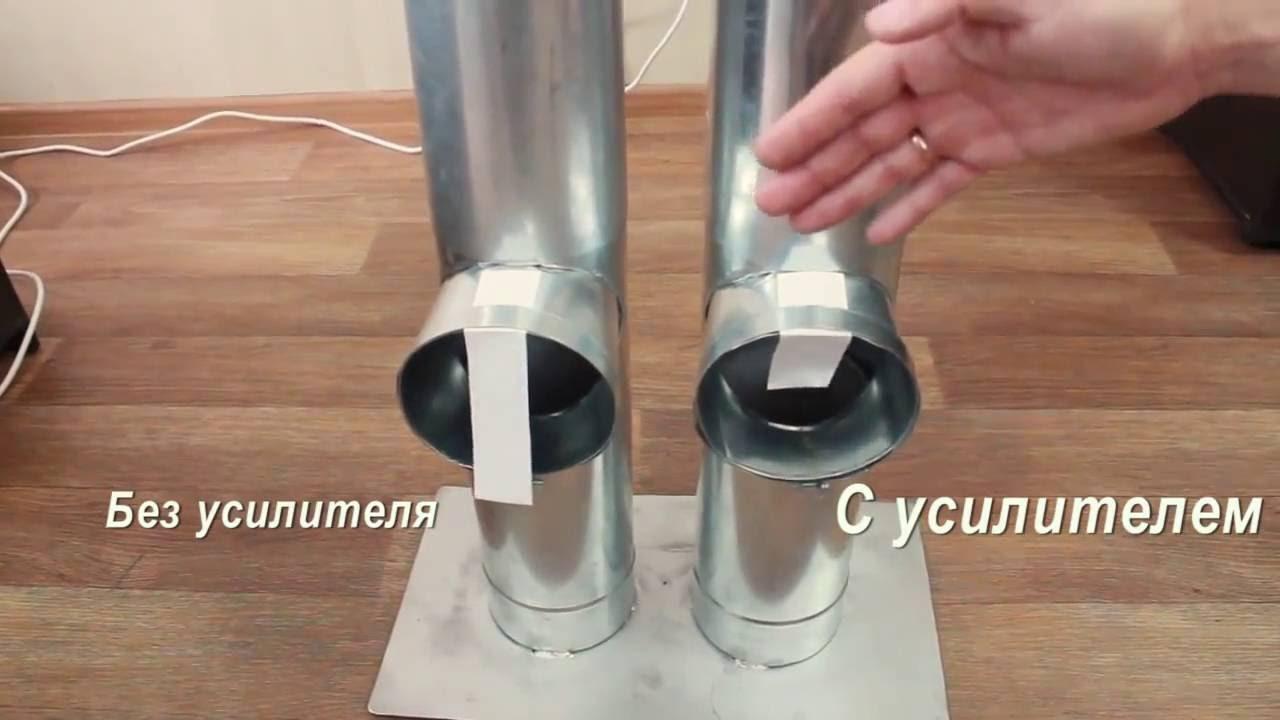 Как увеличить тягу дымохода, как подобрать усилитель для улучшения, детально на фото и видео