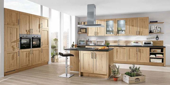 План кухни с размерами и мебелью: разработка эскиза
