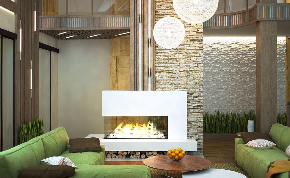 50 фото идей гостиной в частном доме - дизайн и интерьер