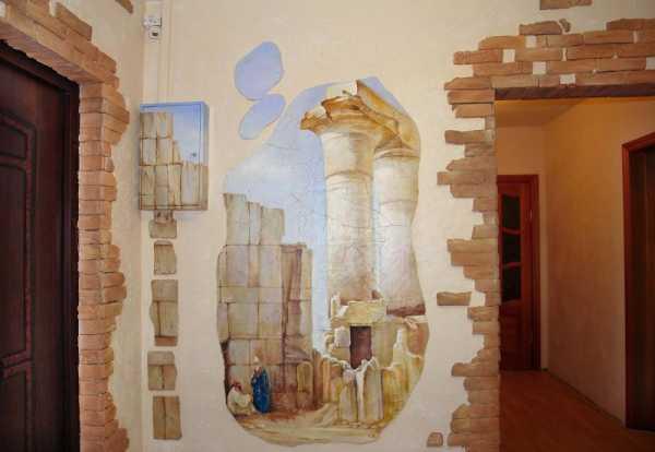 стена под камень