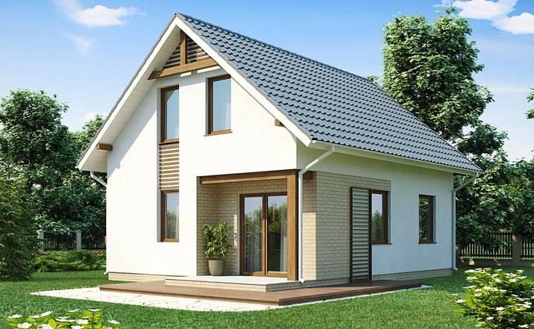 Планировка популярных домов 8х9, особенности планирования для одно- и двухэтажных проектов, а также для проектов с мансардой - 11 фото