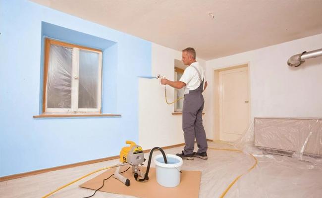 Подготовка бетонных стен в квартире к окрашиванию по шагам