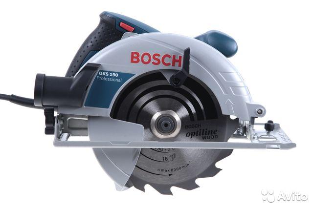 Bosch gks 190 professional: обзор циркулярной ручной пилы