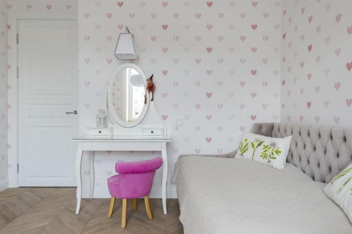 Обои для подростка в спальню мальчика и девочки 14 16 лет в современном стиле в интерьере, какой дизайн и цвет выбрать в детскую комнату, как поклеить комбинированные