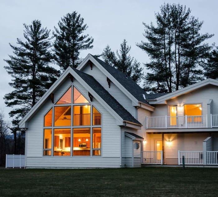 Скандинавские дома – проекты сборно-каркасных конструкций