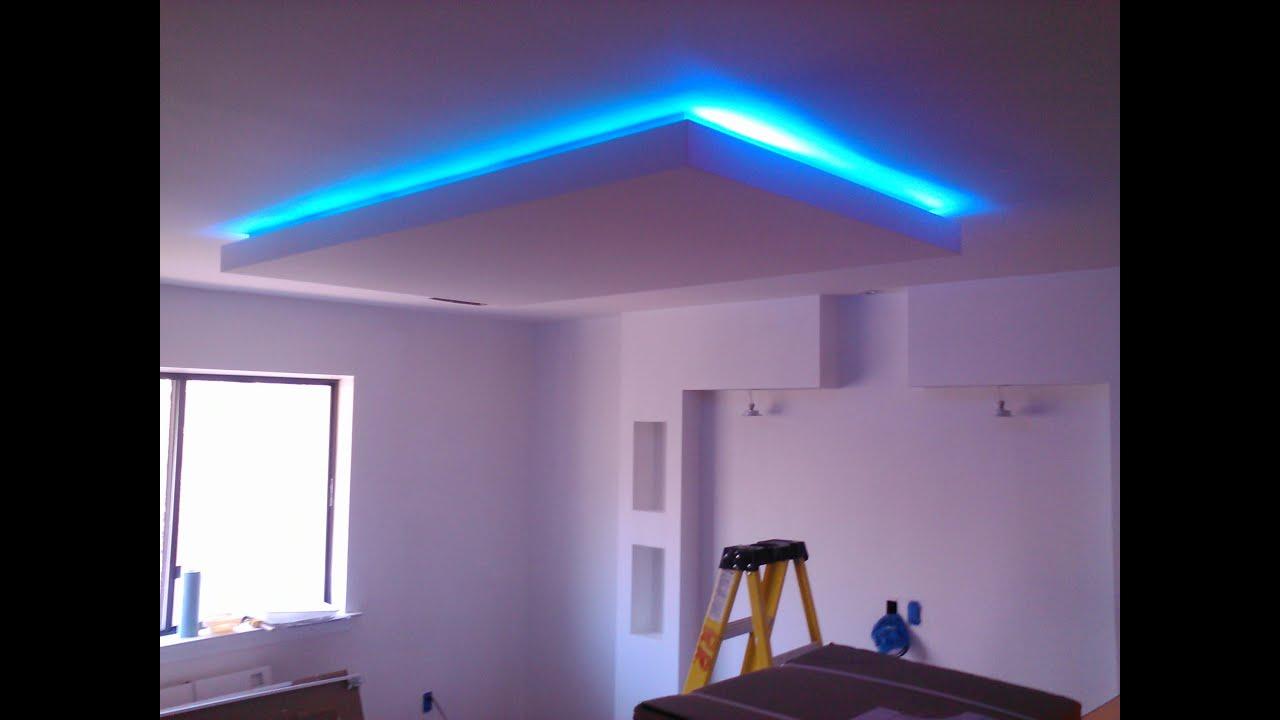 Парящий потолок, парящий натяжной потолок с подсветкой