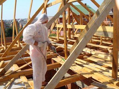 Огнезащита деревянных конструкций, огнезащита дерева в москве - ооо «пожбезопасность»