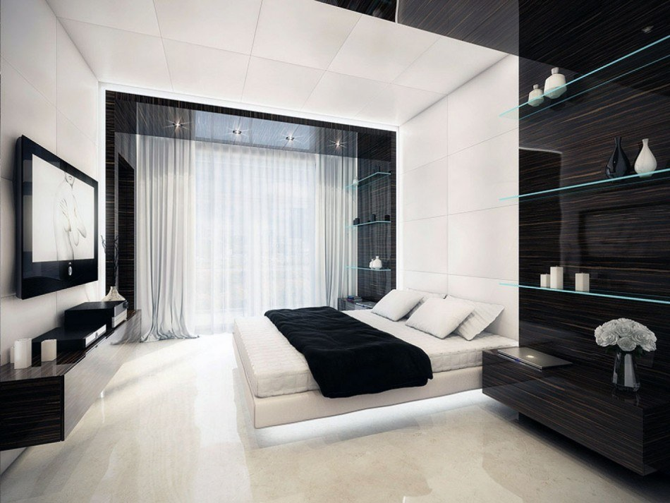 Спальня 13 кв. м. - реальные фото уютного дизайна спальни 13 м²