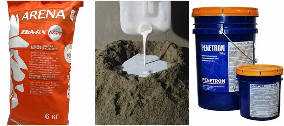 Добавки в бетон для гидроизоляции: какие лучше выбрать