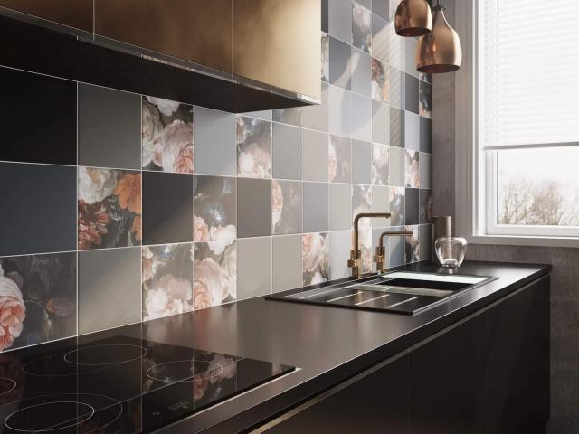 Плитка для кухни на фартук (40 фото): виды, идеи дизайна, советы по выбору и укладке