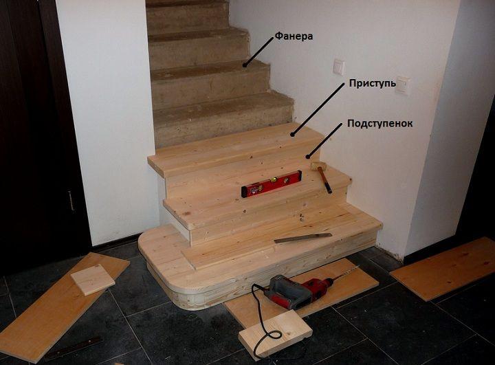 Монтаж деревянных ступеней на металлический каркас - о нюансах в строительных работах