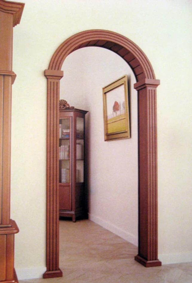 Как закрыть арку: установка складной двери типа гармошка и другие варианты