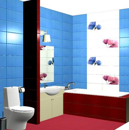 Расчет кафельной плитки для ванной: способы раскладки и определения количества расходного материала
