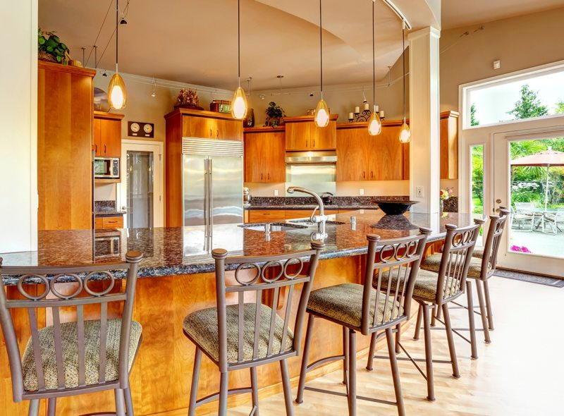 фото кухонь в реальных квартирах фото