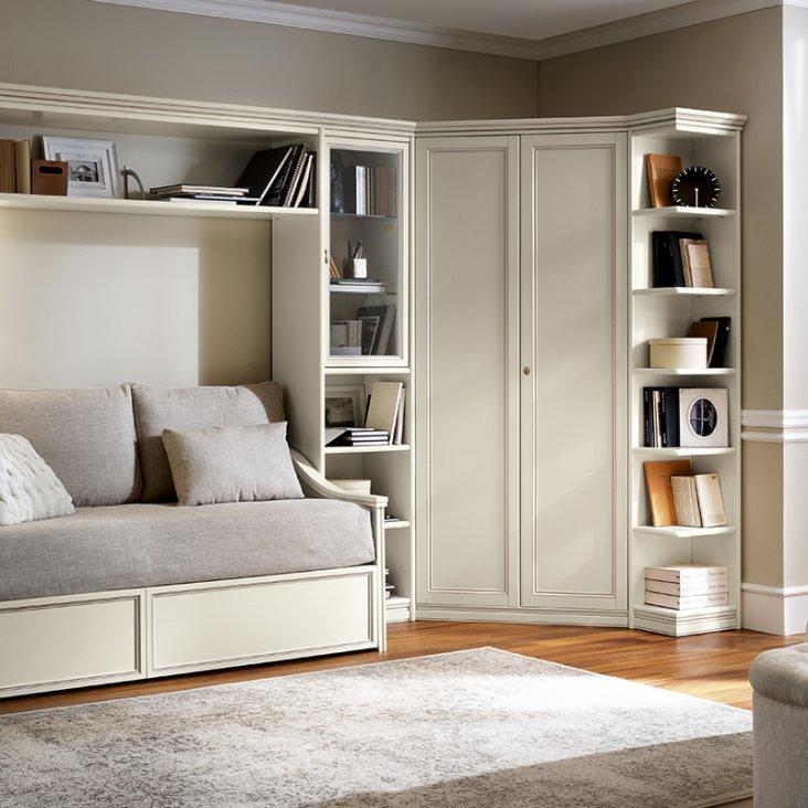 Угловые шкафы в спальню (86 фото): дизайн-идеи и размеры, маленький или большой для одежды, белый или черный, как выбрать
