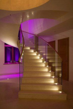 Подсветка лестницы на ступенях с датчиком движения своими руками