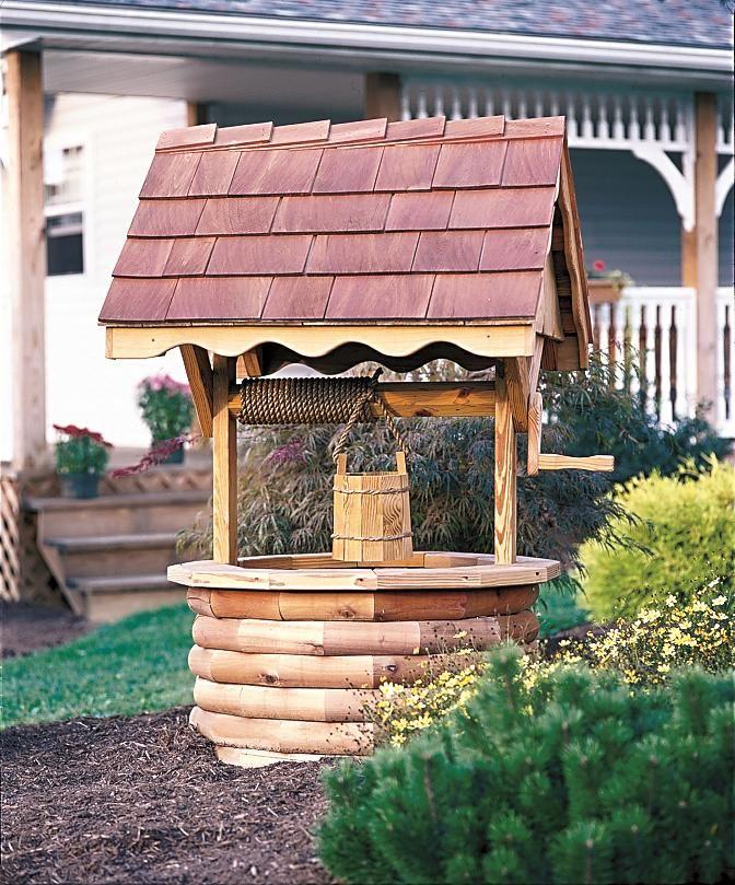 Декоративный колодец на даче своими руками : стили, конструкции, материалы - сам себе мастер - медиаплатформа миртесен