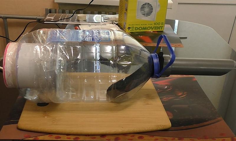 Как изготовить пылесос своими руками?
