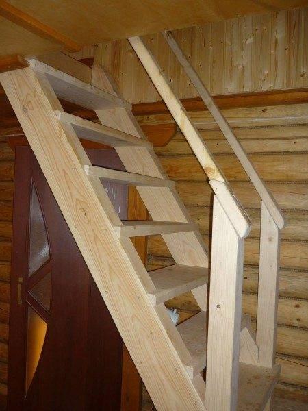 лестница деревянная своими руками