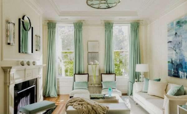 Дизайн гостиной с двумя окнами - 14 фото примеров интерьера