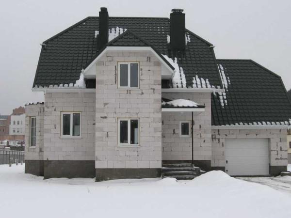стоимость постройки дома из газобетона