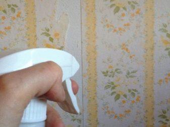 Жидкость для снятия обоев: обзор популярных марок и изготовление средства своими руками